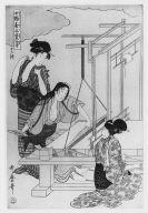 Sericulture, 12th Sheet (Weaving)