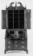 Desk and bookcase