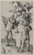 Three Putti with Shield and HelMETUnmeasured