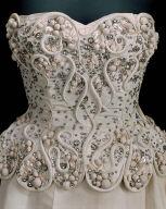 Evening dress (in three parts)