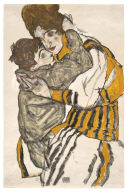 Schiele's Wife with her Little Nephew