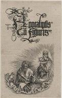 The Virgin Mary Appearing to Saint John on Patmos (Apocalypse)