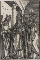 Saints Nicholas, Ulrich, and Erasmus