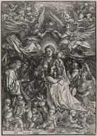 The Virgin as Queen of the Angels