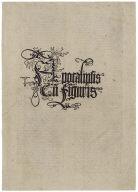 Titlepage to the Apocalypse of Saint John (Apocalypse)