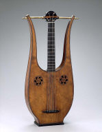 Lyre-guitar