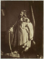Man in Arab Costume with Sword