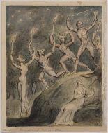 "Comus with his Revelers (Illustration to Milton's ""Comus"")"
