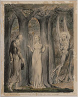 "Comus Disguised as a Shepherd (Illustration to Milton's ""Comus"")"