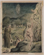 """The Brothers Plucking Grapes (Illustration to Milton's """"Comus"""")"""