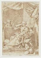 A Sibyl (Allegory of Wisdom ?)