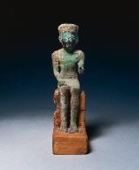 Statuette: Seated Amen-Ra
