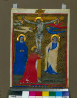 Miniature Excised from a Missal: the Crucifixion