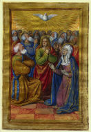 Miniature from a Book of Hours: The Pentecost