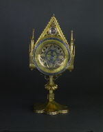 Monstrance with the 'Paten of Saint Bernwald'