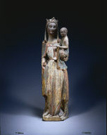 Standing Madonna and Child