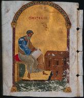 Leaf from a Gospel Book: St. Matthew