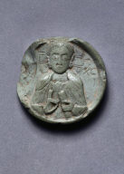 [Medallion with Bust of Christ, Medallion with Christ]