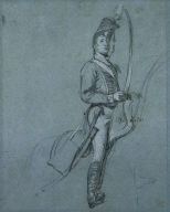 [A Hussar Officer on Horseback, Prince of Wales]