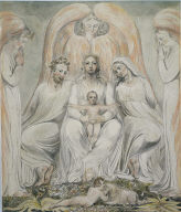 The Holy Family (Christ in the Lap of Truth)