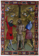 Miniature from a Mariegola: The Flagellation