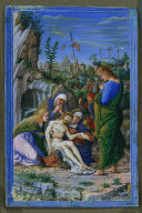 Single Leaf from a Book of Hours: Pieta