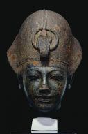 Head of Amenhotep III Wearing the Blue Crown