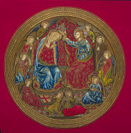 Coronation of the Virgin from an Altar Frontal