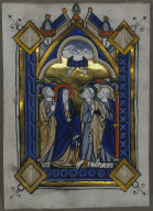 Leaf from a Psalter: The Ascension