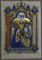 Leaf from a Psalter: The Pentecost