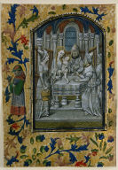 Leaf from a Book of Hours: Presentation in the Temple