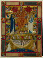 Frontispiece from the Mariegola of the Scuola di San Giovanni Evangelista: The Last Judgment