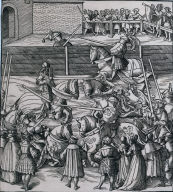 The Art of Jousting and Tilting from Der Weisskunig