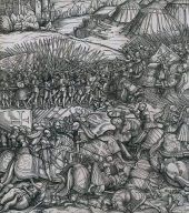 How the French King made war on the King of Feuerisen in his realm and how the King of Feuereisen died in the battle from Der Weisskunig