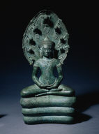Buddha Sheltered by Mucalinda, the Serpent King