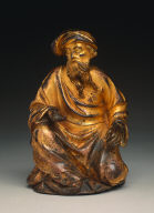 Kneeling Prophet (Supporting Figure from the Reliquary of Saint Germain)