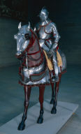 Armor for Man and Horse with Völs-Colonna Arms