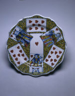 Plate with Playing Cards