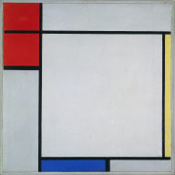 Composition with Red, Yellow, and Blue