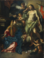 The Risen Christ Appearing to the Virgin