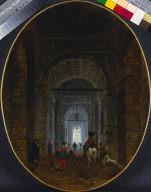 [The Grotto of Posillipo, La Grotte de Pausilippe, ornée d'Architecture]