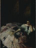 Souvenir of the International Ball, Portrait of Miss Kathleen Bruce