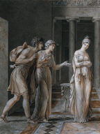 The Meeting of Hermione and Orestes