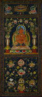 Thangka with the Seventh Bodhisattva