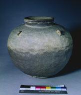 Jar with Four Lug Handles: Paekche Ware