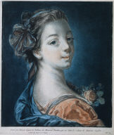 [Head of a Woman (Mme. Deshayes), Tête de femme - Mme Deshayes]