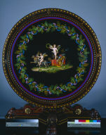 Center Table with Micromosaic Top, 'Love Triumphant'