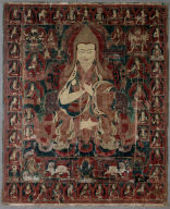 Tsong-Kha-Pa, Founder of the Ge-Lug-Pa: Thangka