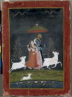 Radha and Krishna in the Rain