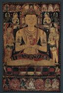 Vajrasattva Buddha and Acolytes